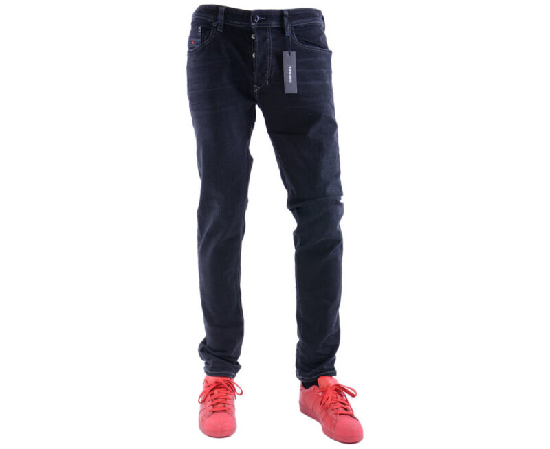54f990ab3c32 DIESEL TEPPHAR 084HQ W31 L32 Mens Denim Jeans Stretch Slim Fit Carrot