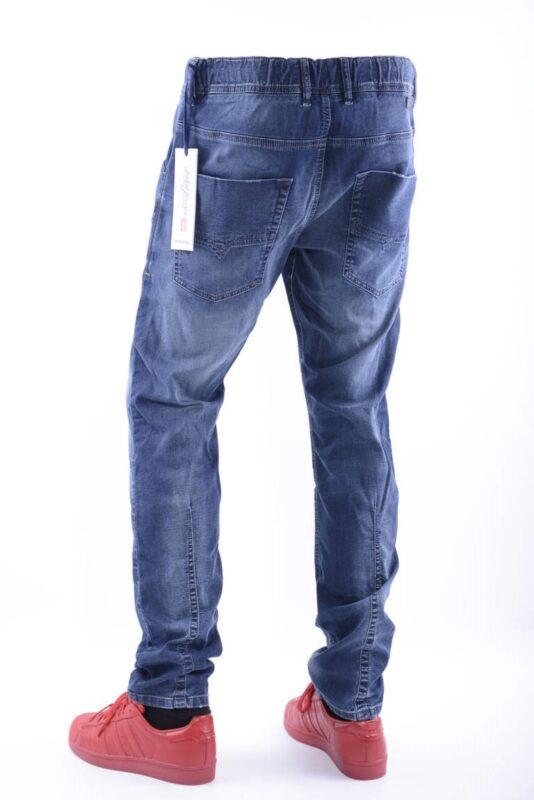 011d933e DIESEL KROOLEY NE 0674Y W32 L32 Mens Denim Sweat Jogg Jeans Slim Fit ...