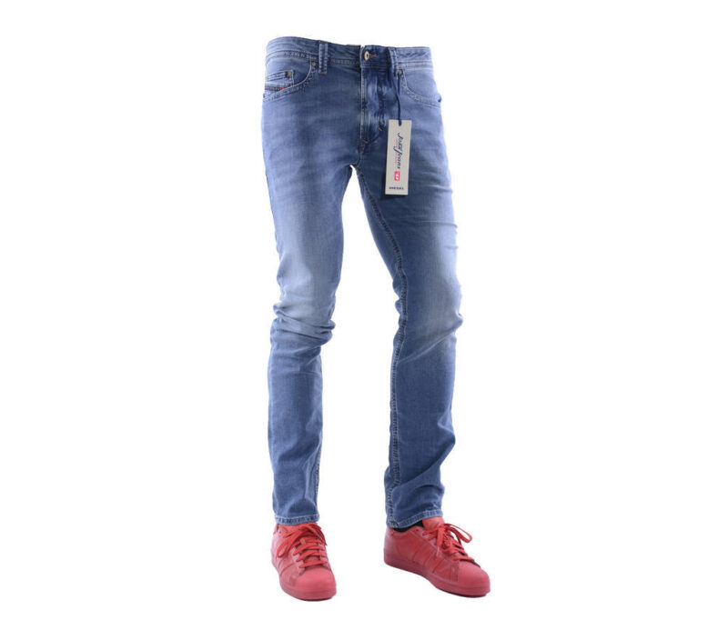 141f8ad0 DIESEL THAVAR NE 084CZ W30 L30 Mens Denim Sweat Jogg Jeans Slim Fit ...