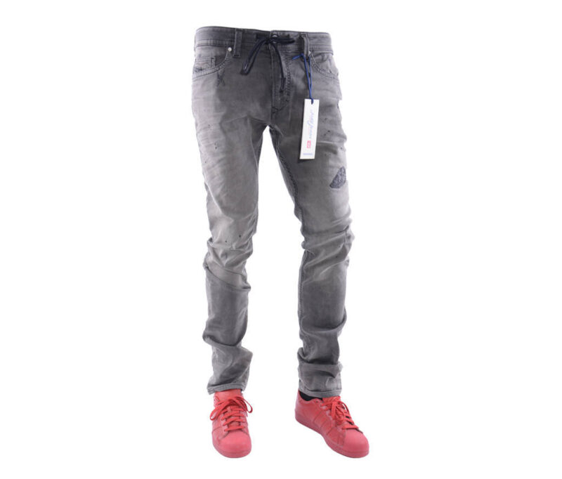 b8e48e2f DIESEL THAVAR NE 0681J W30 L32 Mens Denim Sweat Jogg Jeans Slim Fit Skinny
