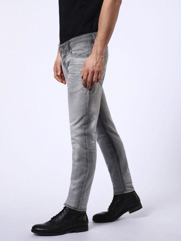 Diesel Men/'s Slim Tapered Fit Jeans Trousers Tepphar 0682v Rrp Lyocell