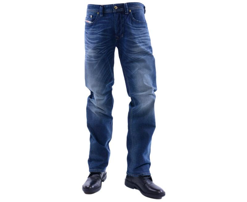 eb12e878 DIESEL LARKEE 0853R W32 - W38 L30 - L34 Mens Denim Jeans Regular Straight