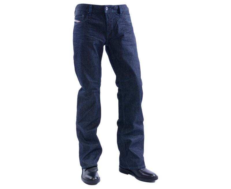 54aac3c1 DIESEL ZATINY 0088Z W29 – W36 L30 – L34 Mens Denim Jeans Regular Fit Bootcut