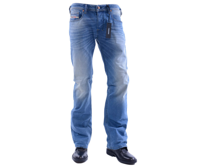 8c5b552b DIESEL ZATINY 0850W W32 L32 Mens Denim Jeans Stretch Regular Fit ...