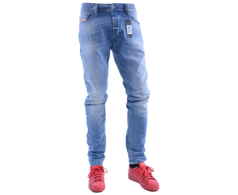 b179d4f2ff1 DIESEL TEPPHAR R2H48 W28 - W34 L30 L32 Mens Denim Jeans Stretch Slim Fit  Carrot