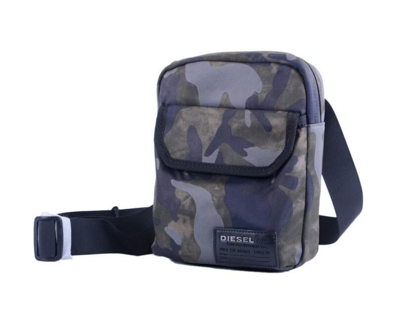 7732670a49a5 Details about DIESEL F-CLOSE CROSS H5254 Mens Cross Body Shoulder  Camouflage Messenger Bag