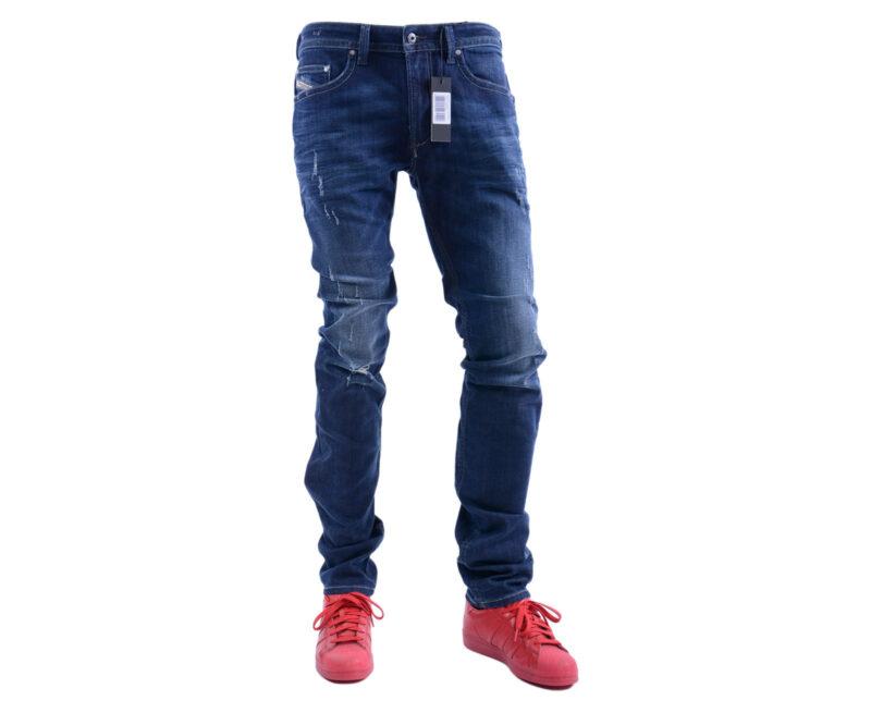 5286a661 DIESEL THAVAR R844T W32 W34 L34 Mens Denim Jeans Stretch Slim Fit ...