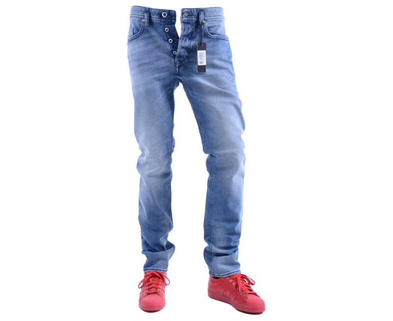 205b211c DIESEL BUSTER 0853P W30 L32 Mens Denim Jeans Stretch Regular Slim Tapered