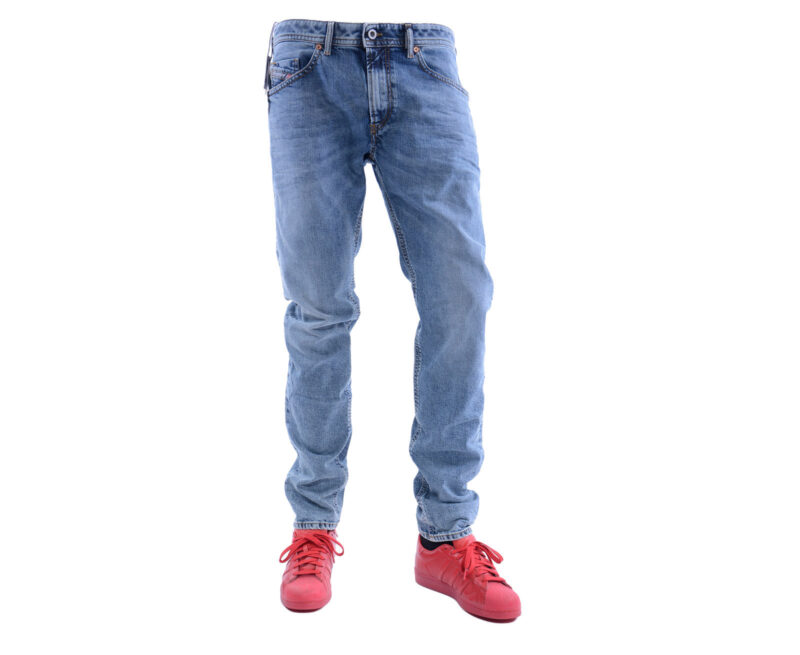 bf76bbe2 DIESEL THOMMER 084UX W32 L32 Mens Denim Jeans Stretch Slim Fit ...