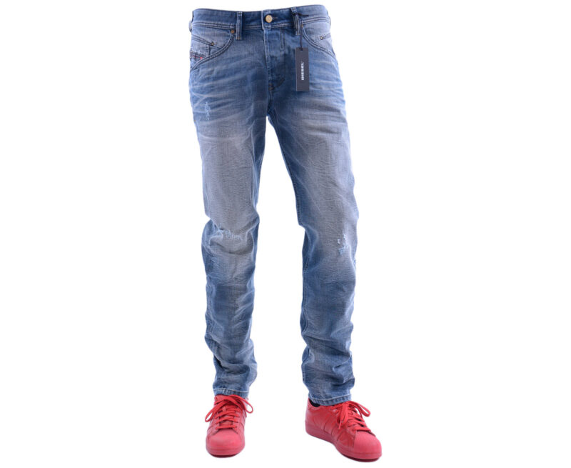 f94df518 DIESEL BELTHER 0841K W28 - W34 L32 Mens Denim Jeans Stretch Regular Slim  Tapered - topbrandoutlet