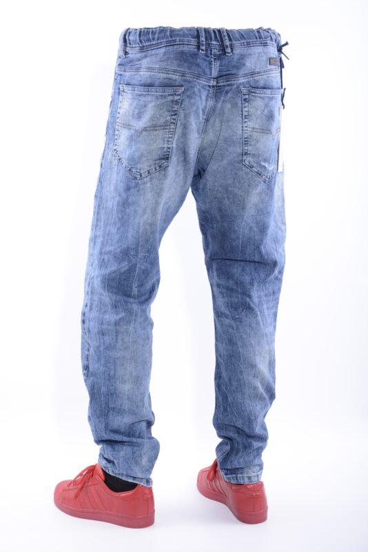80281275 DIESEL NARROT NE 0607W W32 L32 Mens Denim Sweat Jogg Jeans Regular ...