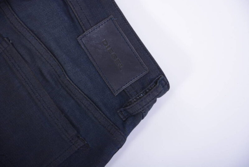 diesel sleenker 0685n mens denim jeans distressed stretch slim skinny black pant