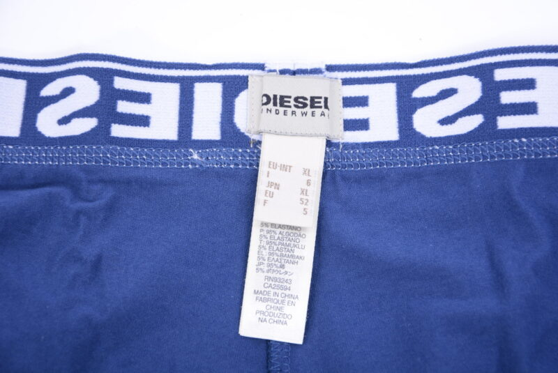 diesel fresh & bright boxer trunks mens underwear 3 pack shorts stretch cotton
