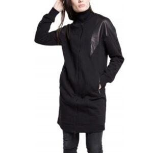 diesel g consuelo womens jacket long cardigan shrug size xs s black slim zipped