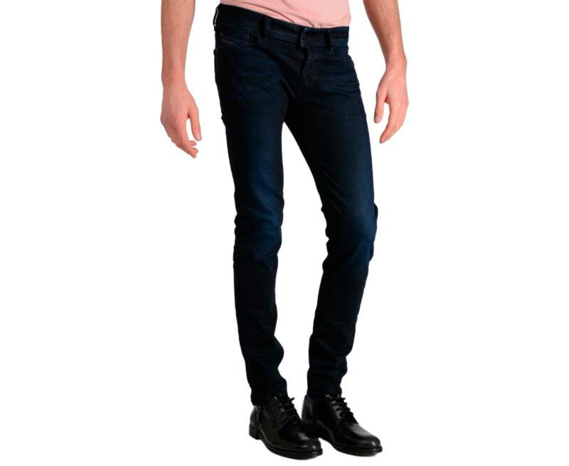 4424fbfd DIESEL SLEENKER 0679A W26 – W33 L30 Mens Denim Jeans Stretch Slim Fit Skinny