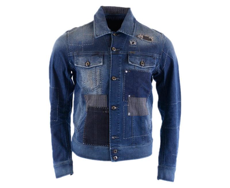 3f9f8180 DIESEL D JIM 0855J Mens Denim Jeans Jacket Winter Outwear Coat ...