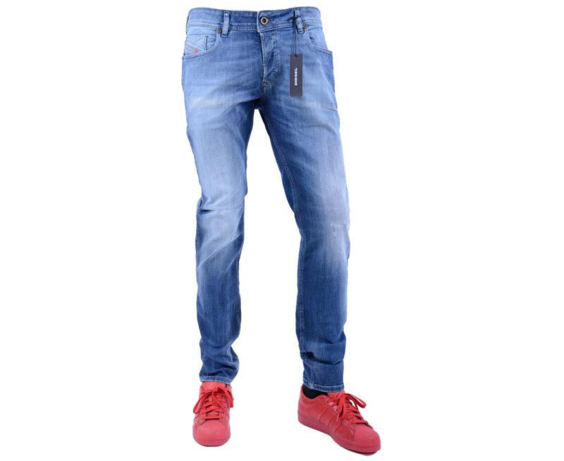 DIESEL TEPPHAR 0674N W31 W36 L32 L34 Mens Denim Jeans Stretch Slim Fit Carrot