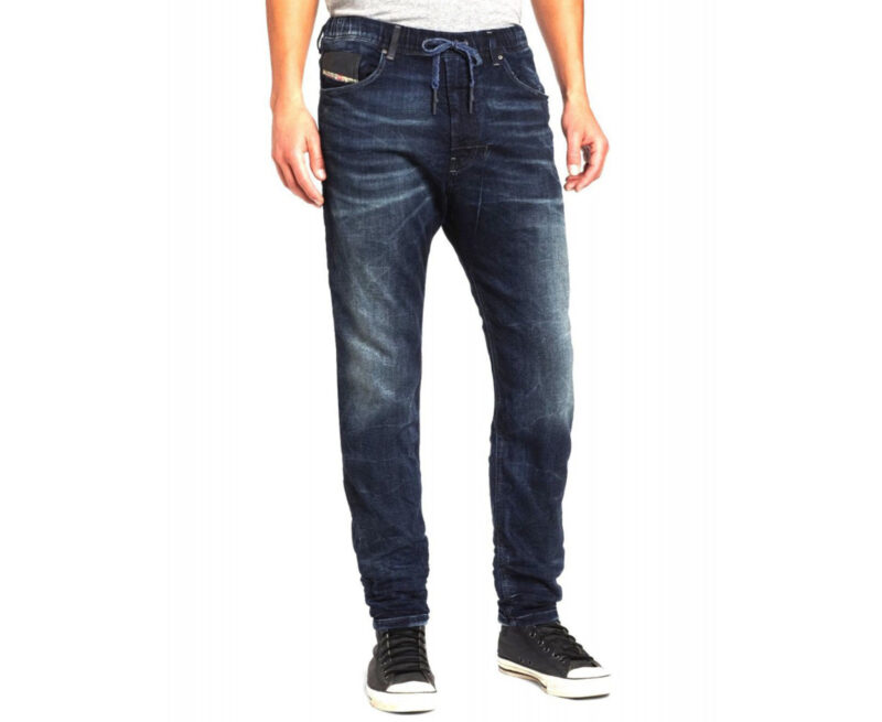 1be7d4c5 DIESEL NARROT NE 0600S Mens Denim Jogg Jeans Slim Fit Tapered ...
