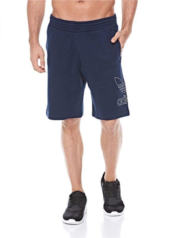 ab047aabf3 ADIDAS ORIGINALS OUTLINE Mens Fleece Shorts Trefoil Summer Casual Bermuda