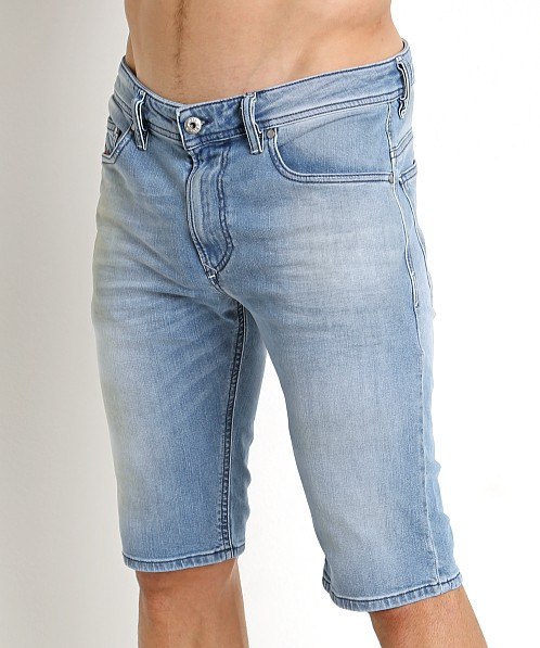 beb2d4eeda HomeMenShortsDenimDIESEL THASHORT 084CU Mens Denim Jeans Shorts Stretch Summer  Casual Beachwear. -17%