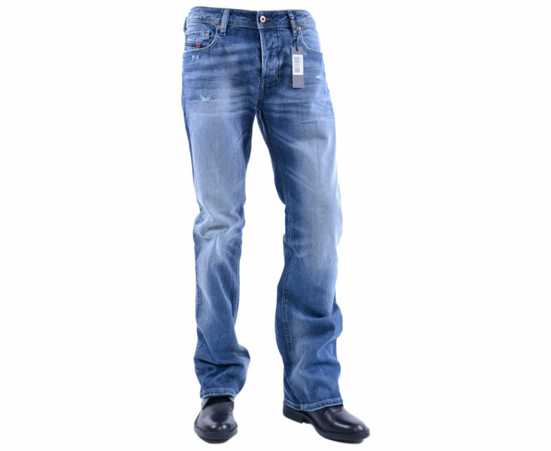 6ece176705c HomeMenJeansDIESEL ZATINY 084DD W29 W31 L30 Mens Denim Jeans Stretch  Regular Fit Bootcut. -33%