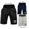 adidas originals sport ess mens fleece shorts trefoil summer gym fitness sweat
