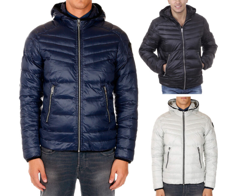 987f533de7d DIESEL R-AZUMI Mens Puffer Jacket Padded Quilted Winter Outwear Down Filled  Coat