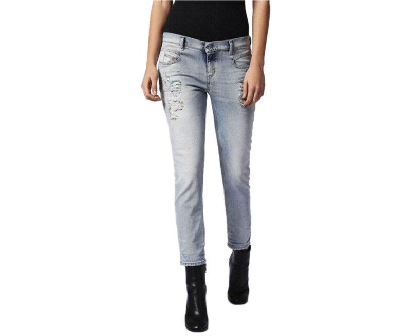 0b4912d5528555 DIESEL BELTHY 084DM Womens Denim Jeans Lyocell D.N.A Stretch Regular Slim -  topbrandoutlet