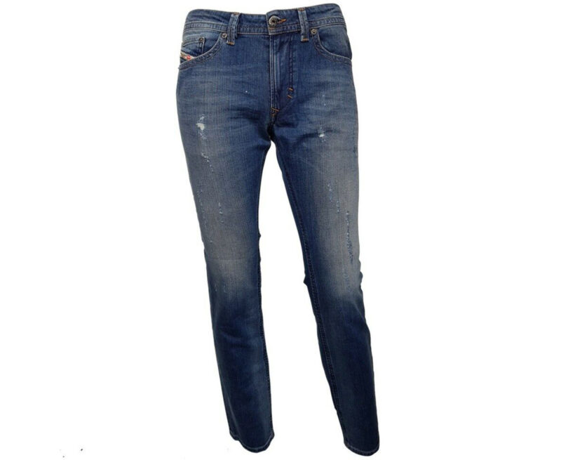 DIESEL THAVAR R831Q Mens Denim Jeans Slim Fit Skinny