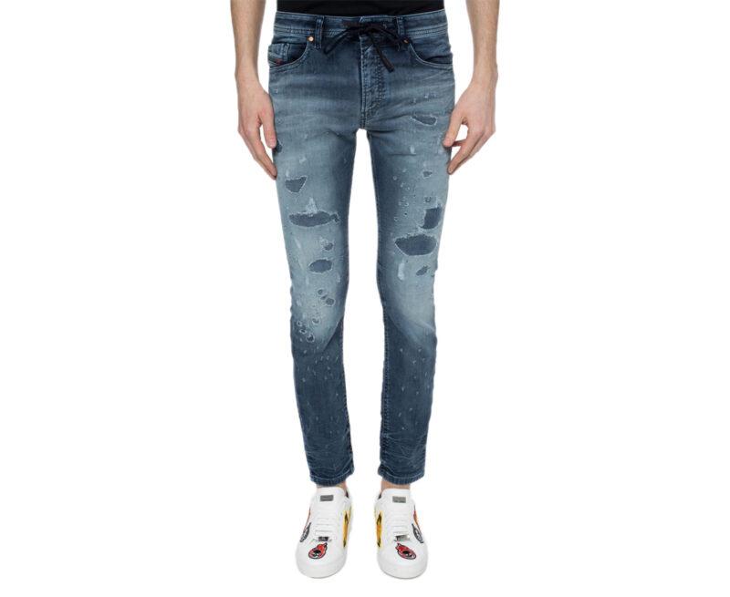 bd9a362e DIESEL THOMMER NE 069CC Mens Denim Sweat Jogg Jeans Slim Fit Skinny -  topbrandoutlet