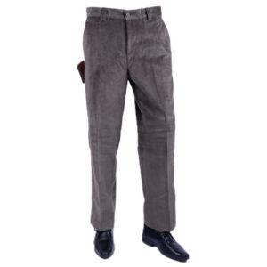 farah classic 813270-gp mens corduroy trousers flat front straight dark olive