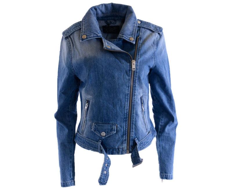 a2b59a301b0 Details about DIESEL R LUPAS Womens Denim Jacket Winter Summer Outwear Blue  Long Sleeve