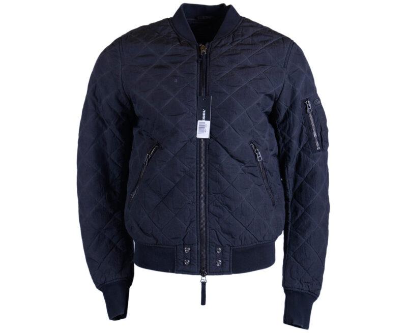 6ad0e7835 DIESEL W-CREEK 0NAKC Mens Bomber Jacket Summer Casual Outwear Black Coat