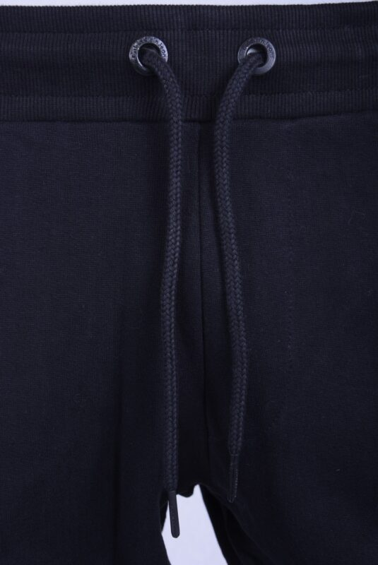 calvin klein jeans mens ck fleece jogging bottom lounge joggers black grey marl