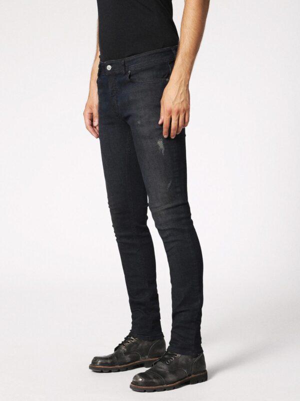 4985b820 DIESEL SLEENKER 0685N Mens Denim Jeans Navy Slim Fit Skinny ...