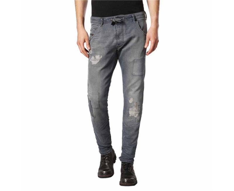 ee04ccc7 DIESEL KROOLEY CB NE 0684A W34 Mens Denim Sweat Jogg Jeans D.N.A ...