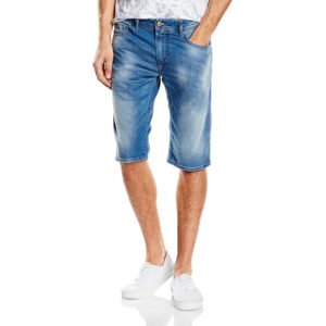10a150b0d2 DIESEL THASHORT 0851S Mens Denim Jeans Shorts Stretch Summer Casual Outwear