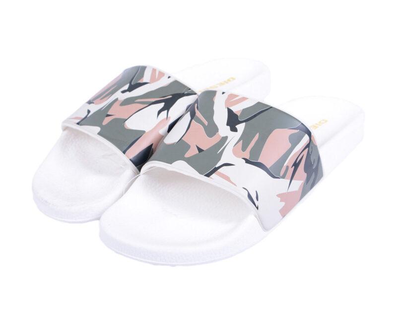 Mens Camo Slides Flip Flops Sandals Sliders Beach Camouflage Slippers All Sizes
