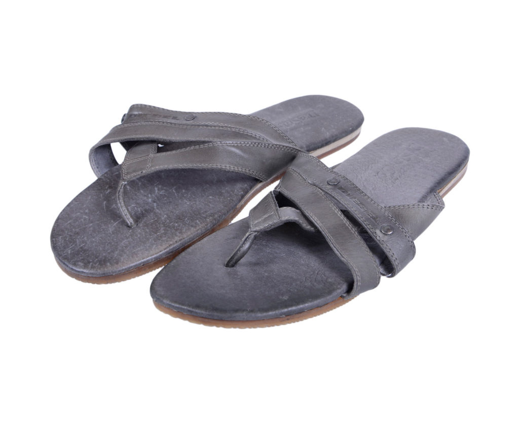 diesel mannu pr013 mens genuine leather sandal beach slippers slip on flip flops