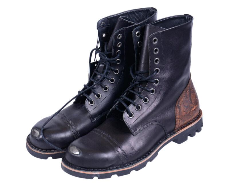 8978d67ac10 DIESEL HARDKOR Mens Biker Boots Genuine Leather Casual Shoes Hi Top Sneakers