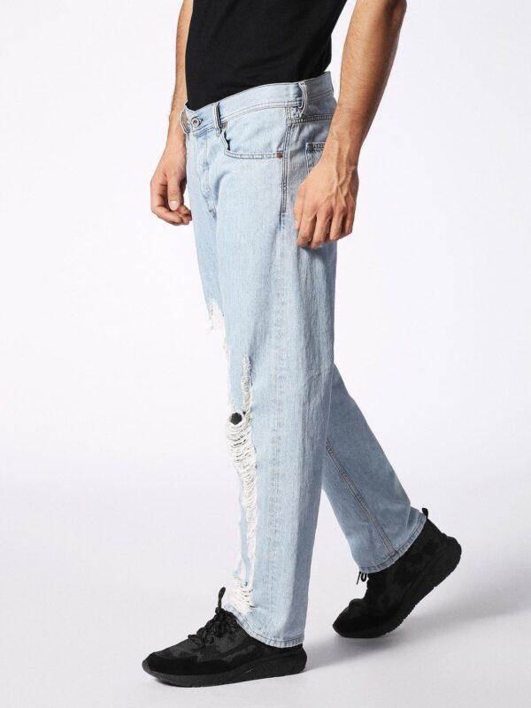 DIESEL Dagh 084SX Jeans Denim Uomo Regular Fit Straight