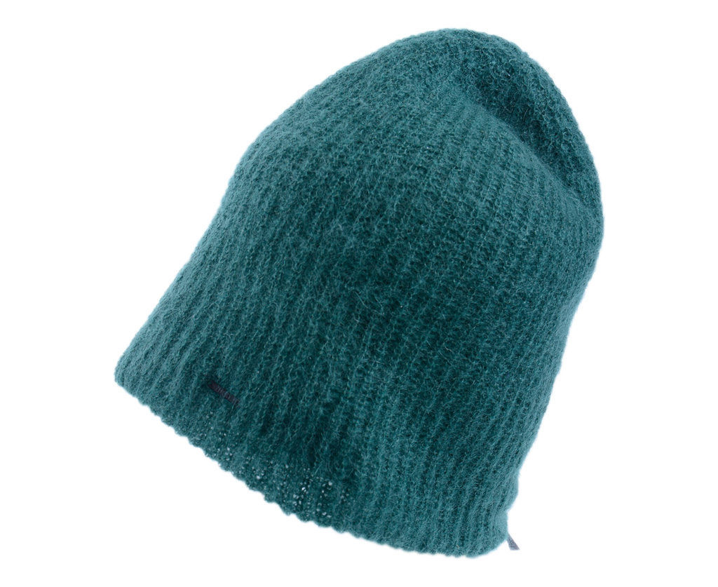diesel k-ross mens knitted beanie hat winter cap pull on ribbed edge