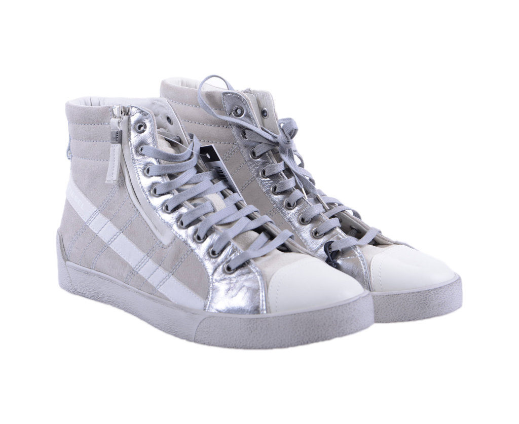 diesel mens sneakers high neck lace up trainers basketball shoes f3-2846