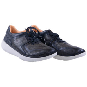 diesel mens sneakers genuine leather lace up trainers casual black shoes italy