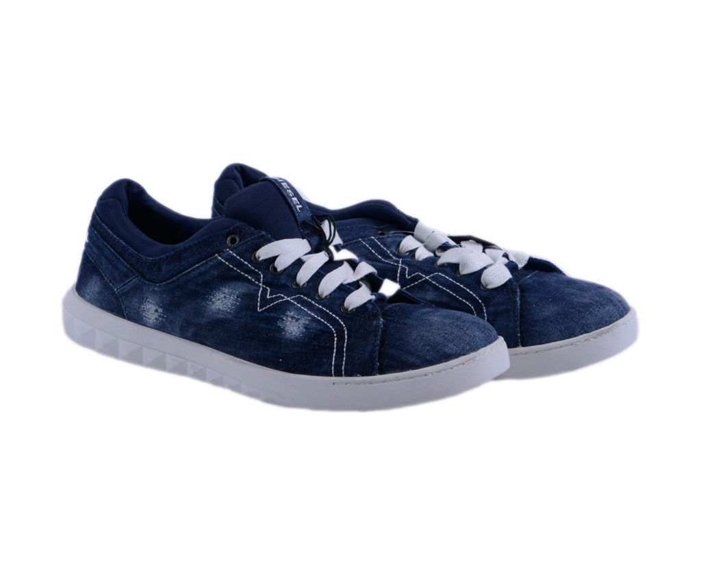 diesel mens denim jeans sneakers lace up trainers casual shoes f4-2892