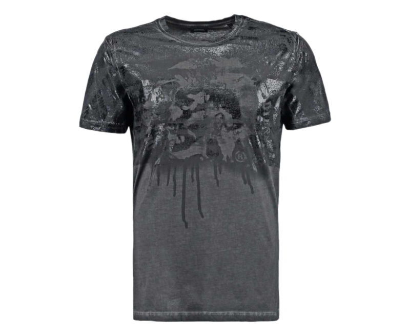diesel t rodol mens t shirt short sleeve crew neck graphic print casual wear