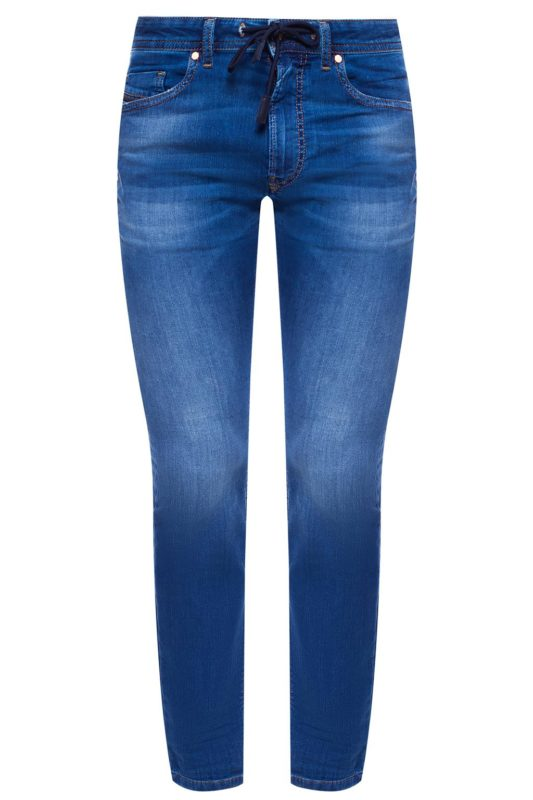 diesel thommer cb ne 0699y mens denim sweat jogg jeans slim fit skinny