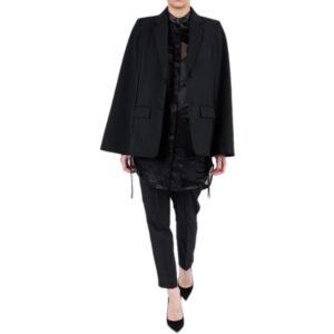 diesel black gold galapagos bg3dz womens wool suit separate black blazer jacket