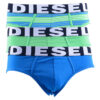 diesel umbr ander seasonal mens briefs stretch cotton 3 pack underwear trunks