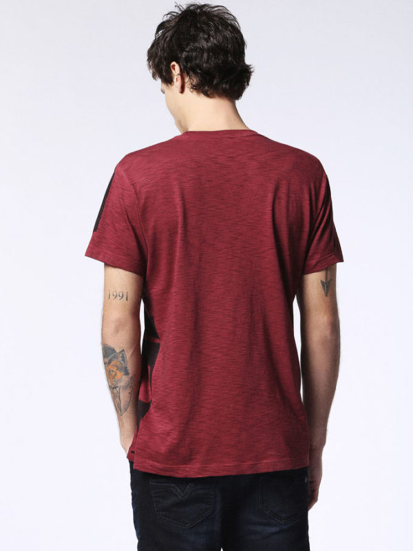 diesel t diego mh mens t-shirt short sleeve crew neck casual summer cotton tees